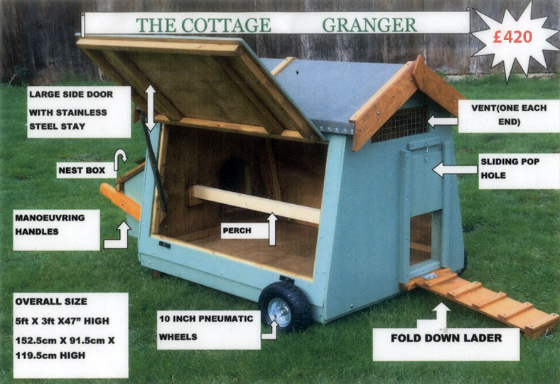 The Cottage Granger - Mobile Poultry House 7