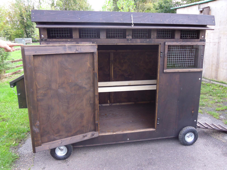 The Oxford Mobile Poultry House 3