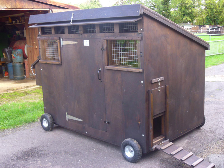 The Oxford Mobile Poultry House 1